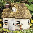 Miniature Fairy Garden Thatched Roof Cottage
