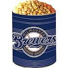 Milwaukee Brewers 3 Way Popcorn Gift Tin