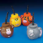 Zoo Animal Sipper Cups