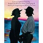 Love Eternal Personalized Fine Art Print