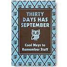 Thirty Days Has September Book