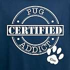 Personalized Certified Dog Addict T-Shirt
