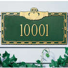 Personalized Small Claddagh Address Plaque