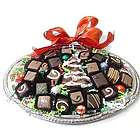Christmas Tree Chocolate Gift Platter