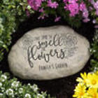 Smell the Flowers Personalized Garden Stone
