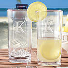 Personalized Tall Acrylic Drinking Glasses