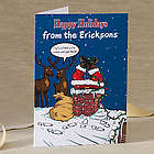 Merry Stressmas Personalized Christmas Cards