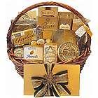 Golden Gourmet Small Gift Basket