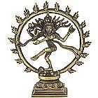 Nataraj Dancing Shiva Recycled Brass Statue