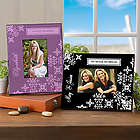 Damask Personalized Picture Frame