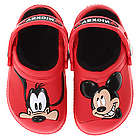 Mickey Mouse and Goofy Fleece Lined Crocs
