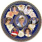 Princess Diana 20th Anniversary Heirloom Porcelain Plate