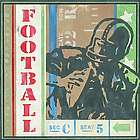 Going for a Pass Game Ticket Canvas Art
