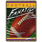 Fanatic Football Tapestry Throw