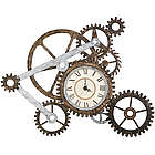 Gear Metal Wall Art Clock