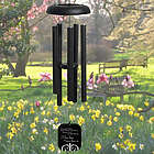 Personalized Miss Him So Pewter Sympathy Wind Chime
