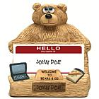 Administrative Professional Teddy Bear Business Card Holder
