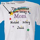 Reason I Love Personalized T-Shirt