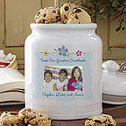 Photo Sweet Treats Personalized Cookie Jar