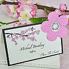 Cherry Blossom Plantable Seed Wedding Place Cards