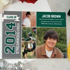 Personalized Class of Graduation Announcements