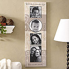 Personalized Family Name Photo Collage Canvas Art