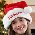 Kids Personalized Santa Claus Christmas Hat