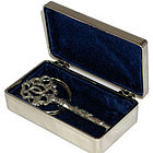 Heart to Heart Engraved Keepsake Box and Key