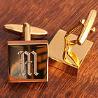 Addison High Polish Brass Cuff Links