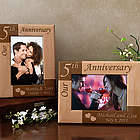 Personalized Our Anniversary Wooden Picture Frame