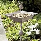 Garden Stake Bird Feeder