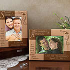 Personalized Same Initial Wooden Picture Frame