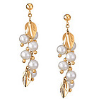 Pearl Couture Earrings in 14K Yellow Gold