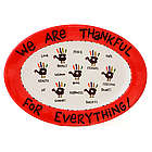 Thanksgiving We Are Thankful Platter