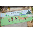 Personalized Spring Family Doormat