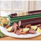 One Pound Beef Log� Lite and 2-oz. Mustard
