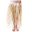 Adult Raffia Flowered Hula Skirt