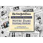 Notre Dame Fighting Irish Football's Greatest Moments Book