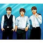 Jonas Brothers Pop Art Limited Edition Fine Art Print