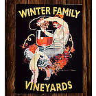Personalize Vintage Liquor Art Sign