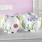 Personalized Dragonfly Piggy Bank
