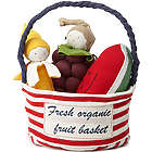 Fresh Organic Fruit Basket Toys