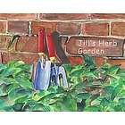 Green Thumb Gardening Personalized Art Print