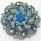Elegant Luxury Flower Brooch