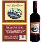 Personalized New Home Wine Bottle Label