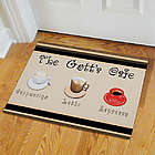 Personalized Cafe Doormat