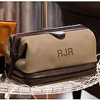 Personalized Toiletry Bag with Manicure Set