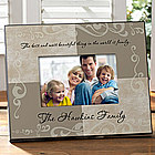 Family Sentiments Personalized Photo Frame