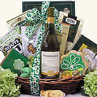 St. Patrick's Day Irish Blessings Camelot Chardonnay Gift Basket