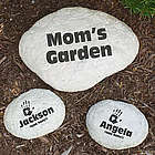 Engraved My Handprints Garden Stone